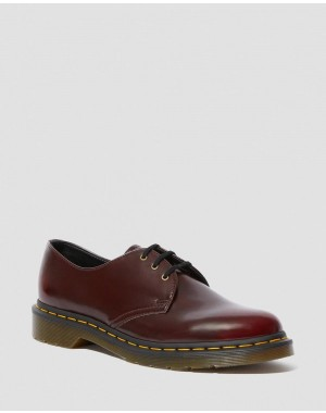 Black Friday 2020 ZAPATO 1461 OXFORD BRUSH VEGANO - CHERRY RED OXFORD RUB OFF Barato